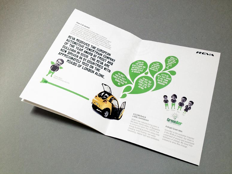 Brochure inside Design